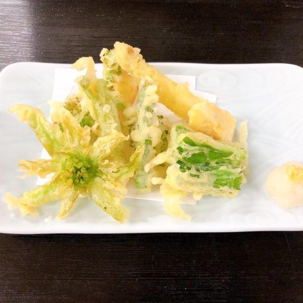 春野菜天婦羅定食